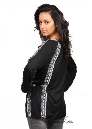 Дамска блуза дълъг ръкав - Fresh Made