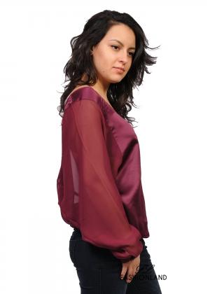 Дамска блуза дълъг ръкав - Stich&Soul