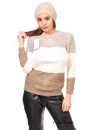 Дамски пуловер - 3 части
