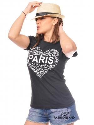Дамска тениска-Paris