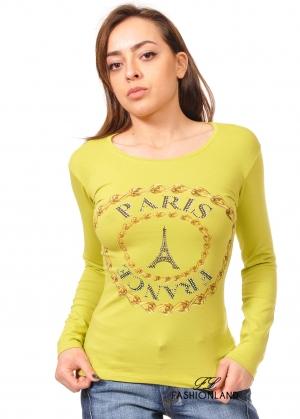 Дамска блуза дълъг ръкав