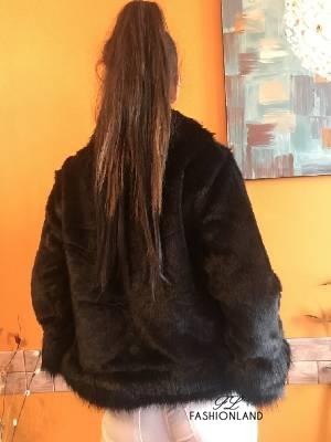 Дамско кожено палто